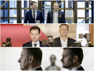 Igor Matovič sa stretol aj dnes s Borisom Kollárom