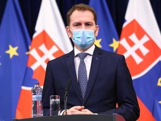 Premiér Igor Matovič s