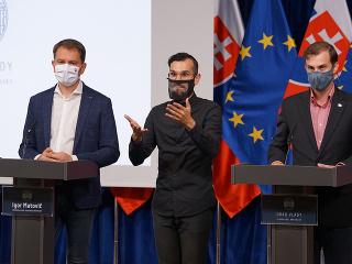 Igor Matovič (vľavo) a