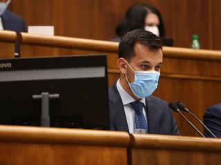 Podpredseda parlamentu Juraj Šeliga