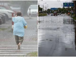 Slováci, pozor! FOTO Meteorológovia
