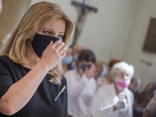 Zuzana Čaputová sa zúčastnila