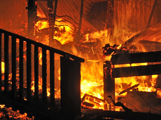 Desivé spomienky na požiar