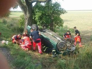 Vážnu dopravnú nehodu neprežila