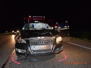FOTO Vážna dopravná nehoda: