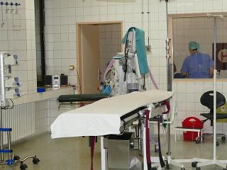 Na snímke oddelenie urológie