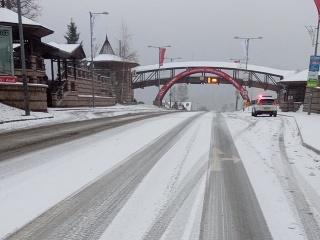 Husté sneženie na Donovaloch