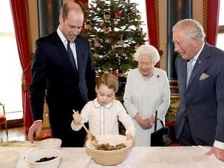 Členovia kráľovskej rodiny.