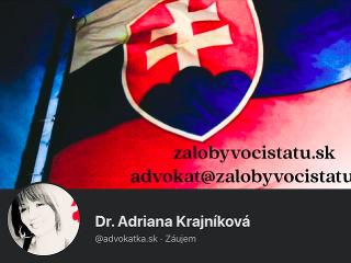 Advokátka Adriána Krajníková