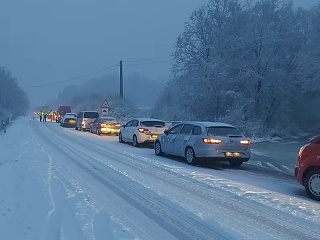 Východné Slovensko zasypal sneh: