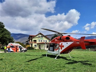 Leteckí záchranári pomáhali pilčíkovi