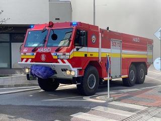 Požiar v Podunajských