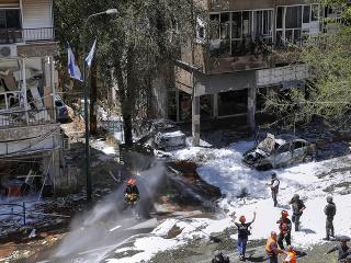 Boje Izraelu a Hamasu