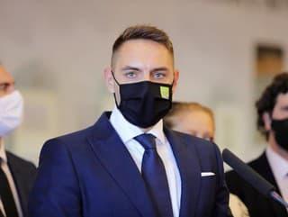 Brífing predstaviteľov strany OĽANO