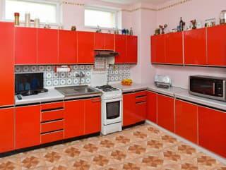 Červená kuchyňa Carmen bola