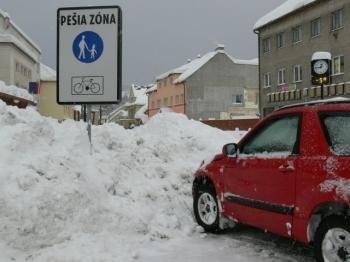 sneh Turzovka  pešia