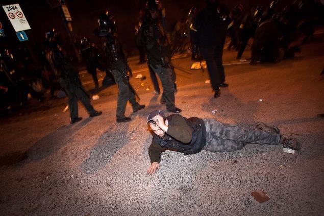 Polícia zasahuje