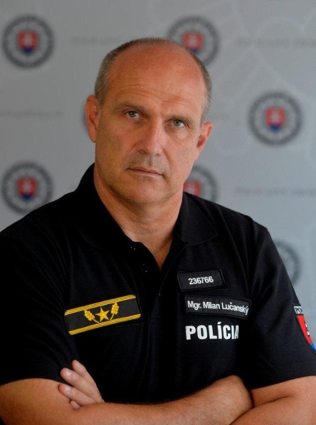 Prezident policajného zboru Milan