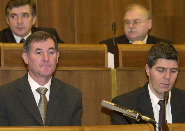 Pavol Hrušovský a Béla