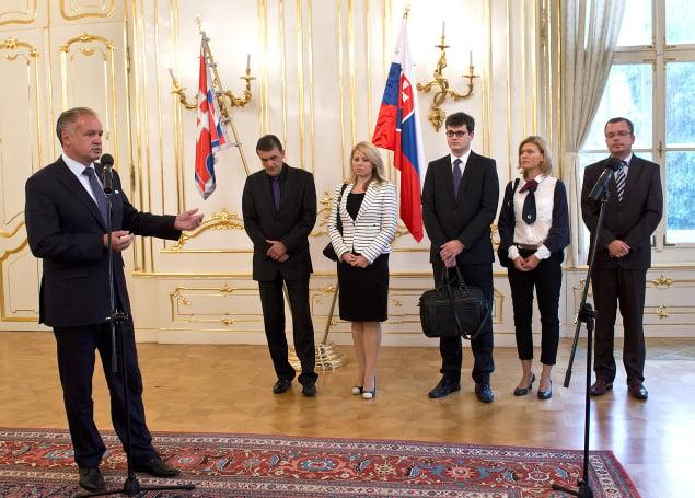 Prezident Andrej Kiska a