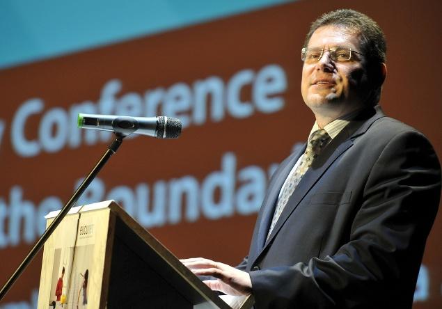 Maroš Šefčovič počas prejavu