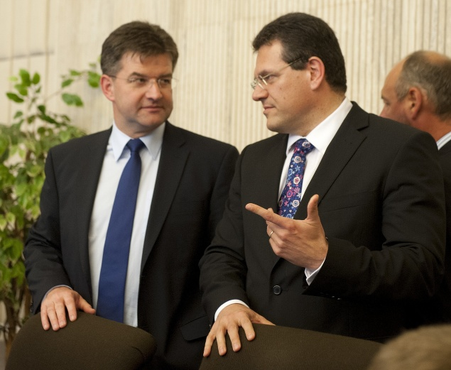 Miroslav Lajčák a Maroš