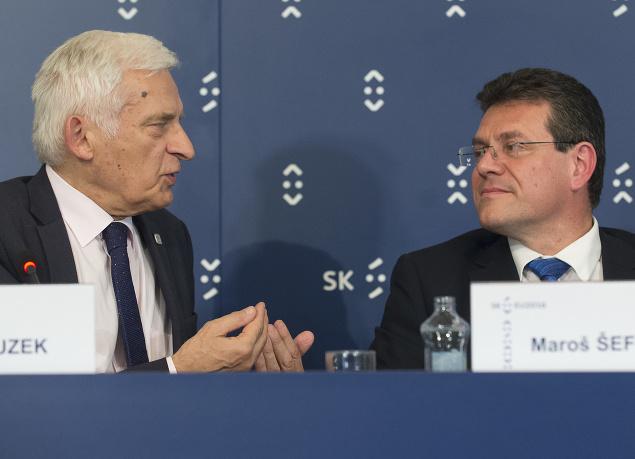 Jerzy Buzek a Maroš