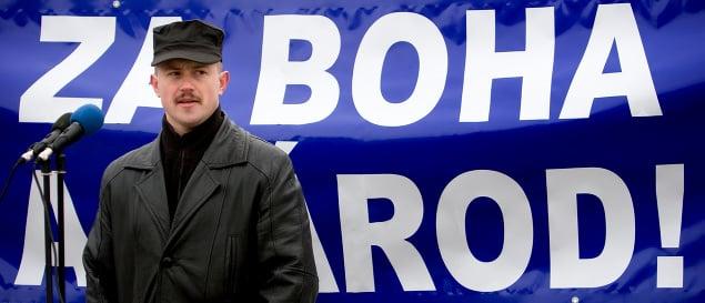 Bývalý predseda Slovenskej pospolitosti