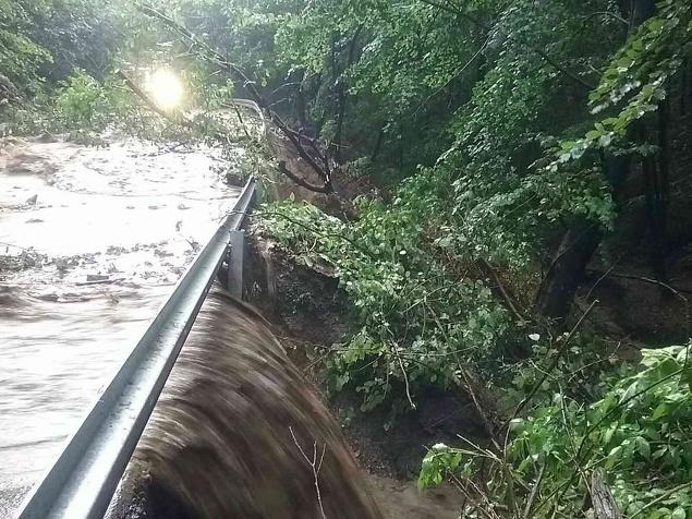Hrozia supercelárne búrky: RADAR