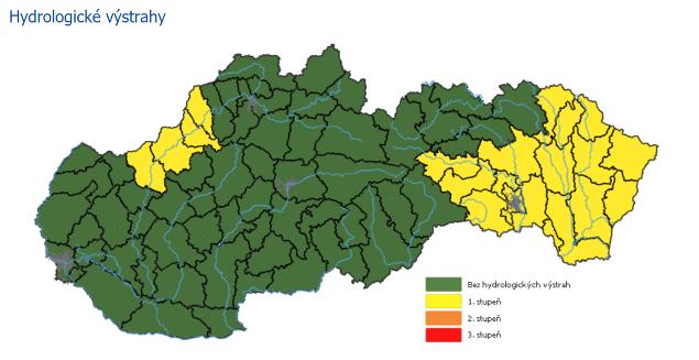 PREDPOVEĎ počasia: Slovensko trápia