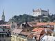 Výhľad na Bratislavský hrad