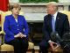 Donald Trump a Angela