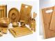 Ukážka výrobkov z bambusu.