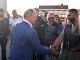Vladimír Putin s motorkárskym