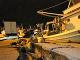 Škody v prístave Zakynthos.