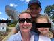 S manželom a dcérou
