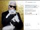 Karl Lagerfeld so svojou