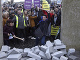 Protesty v meste Newry