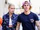 Justin Bieber s manželkou