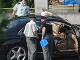 Do Mišenkovho auta vystrelili