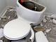 Takto vyzeral zničený záchod