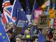Protest proti odchodu Británie