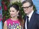 Colin Firth s manželkou