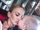 Barbora Balúchová so synčekom