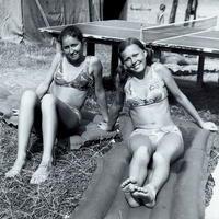 So sestrou ĽUBOU na prázdninách v Nitrianskom Rudne.