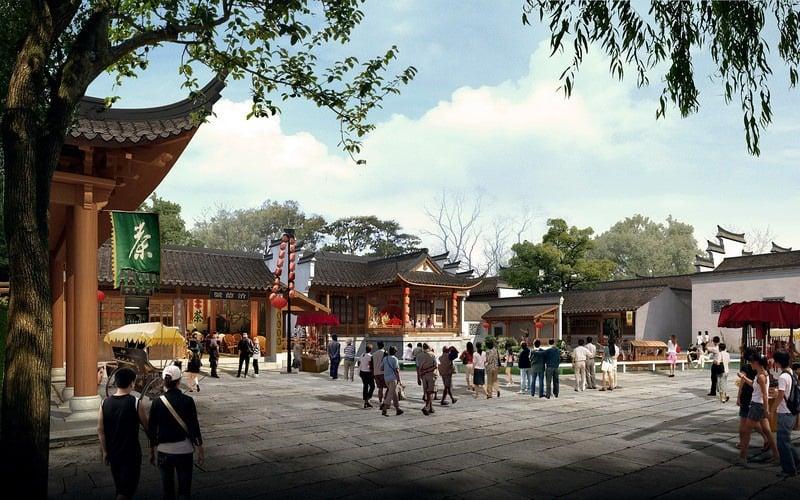 Čínske centrum pri Senci  Pozrite si ako bude vyzerať – galéria ... 9e1322ec333