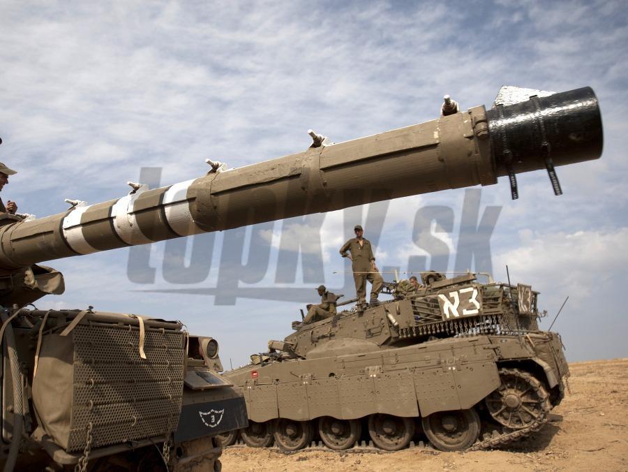 5db803557b994 Izraelský veliteľ potvrdil: Sme pripravení vyslať pozemné sily do ...