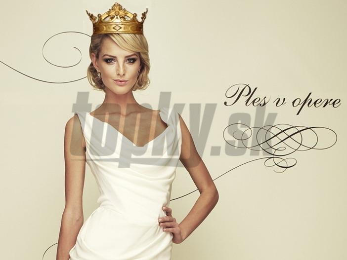 9609caf1d926 Kráľovnou Plesu v opere nádherná Kocianová  Pozrite