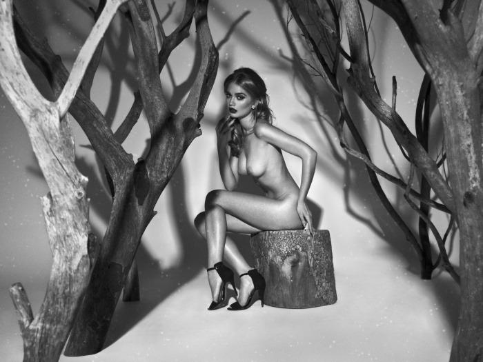 francúzske modely nahé