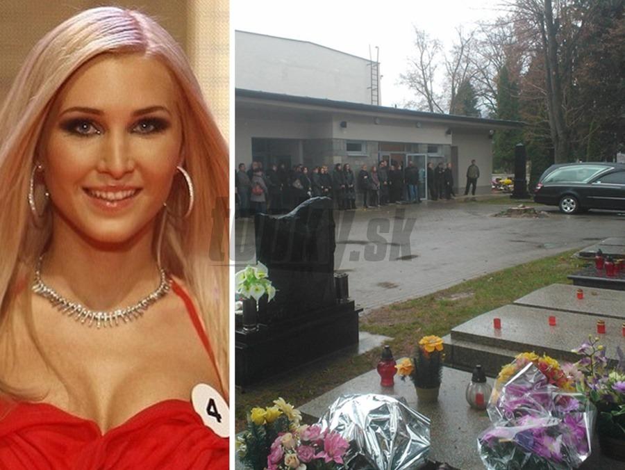 001d6c1ac Pohreb krásnej missky Márie (†27): Plakalo aj nebo, prominentní kamaráti  neprišli! | Topky.sk
